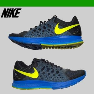 Nike Air Zoom Pegasus 31 Black/Volt/Hyper Cobalt